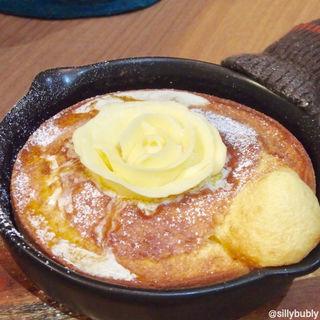 ポンフィパンケーキセット(森のオーブンカフェ ponfy)