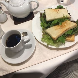 鴨サンドトースト(一六珈琲店 )