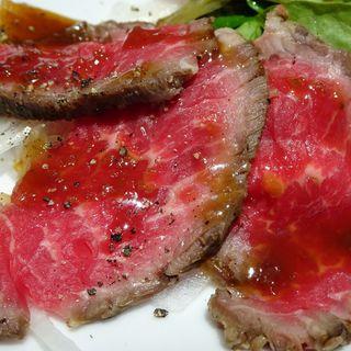 ローストビーフ(肉とワインのバル オットーレーニョ 心斎橋店)