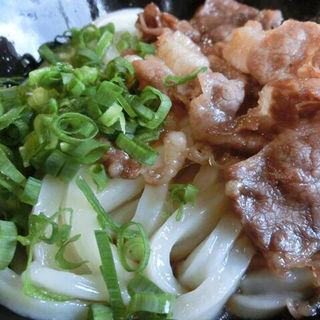 肉ぶっかけ冷(三徳)