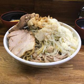 小ラーメン汁なし豚入り(ラーメン二郎 新小金井街道店 (らーめんじろう))