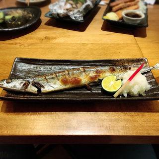 秋刀魚の塩焼き(喜口商店)