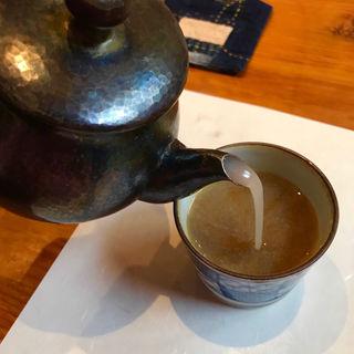 蕎麦湯(たかま )