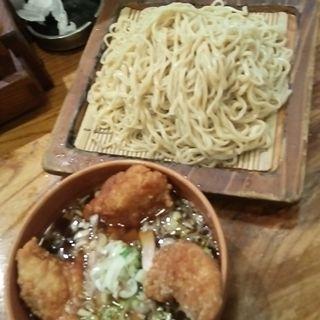 ミックスつけ麺(新高揚)