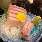 石垣鯛の刺身