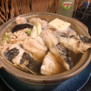 鱈のアラ鍋(ほろよい )
