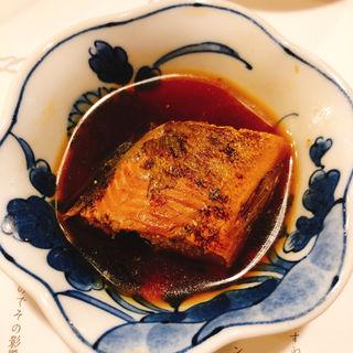 鮎の煮付け(天ぷら新宿つな八 総本店 )