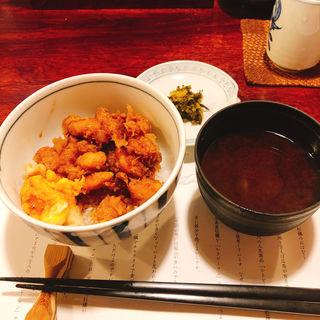 かき揚げご飯(天ぷら新宿つな八 総本店 )