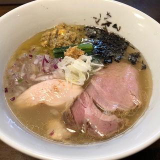 鮮魚の潮そば(貝節麺raik (カイブシメンライク))