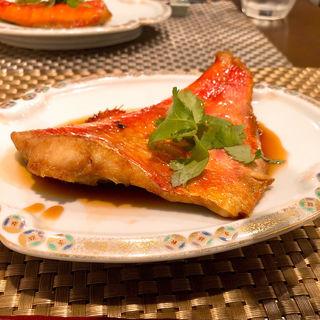 金目鯛の煮付け(かなで (Kanade))