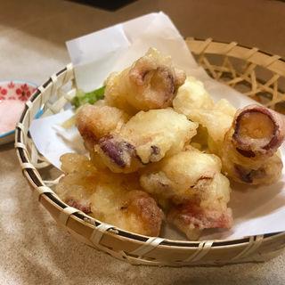 天ぷら タコ の