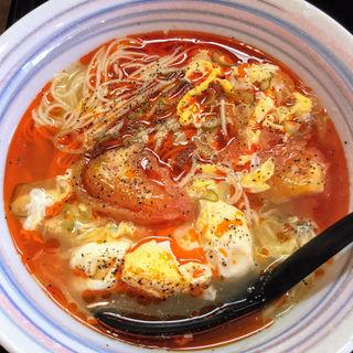 トマト麺(HASE麺 HINCHI)