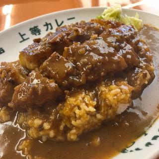 トンカツカレー(得正・上等カレー 岸和田店 )
