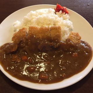 カツカレー(待久寿 )