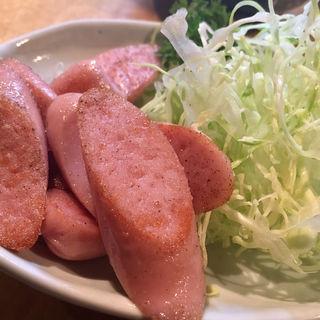 魚肉ソーセージ(釧路 炉端ダイニング ファミリー)