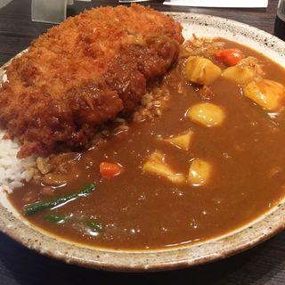 手仕込みとんかつカレー+野菜 3辛 400g(CoCo壱番屋 昭和御器所店 (ココイチバンヤ))