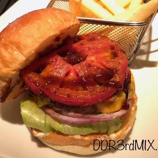 ベーコンチーズバーガー(シェイクツリー バーガー&バー (shake tree burger&bar))