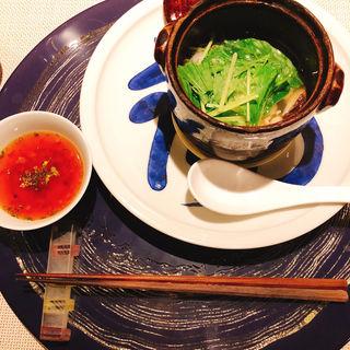 魚と曲と豆を使ったお鍋(スダチ (Sudachi))