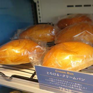 とろける・クリームパン(SHIBUichi BAKERY)