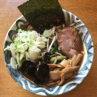 正油ラーメン 麺抜き(ラーメン&カフェ 風沙)