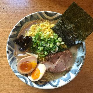 岩塩ラーメン 大盛り(ラーメン&カフェ 風沙)