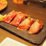 和牛の握り寿司