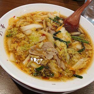 サイカラーメン 小(彩華ラーメン 本店)