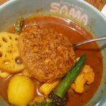 ハンバーグ野菜カリー(SAMA 明治神宮前店)