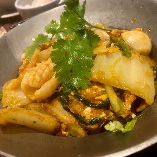 タイスキ(タイ風スキヤキ)セット(タイレストラン Smile Thailand (スマイルタイランド))