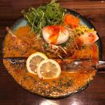 秋刀魚カレー + 秋刀魚のスパイスサーディン + ミニキーマ