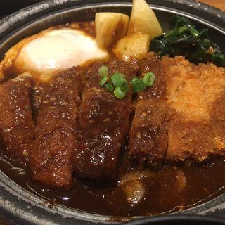 味噌煮かつ定食(やよい軒 札幌駅南口店)