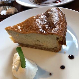 バナナのチーズケーキ(CAFE LABORATORY)