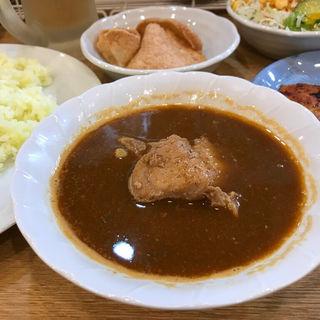 カレーセット(ムルギー)(カレーの店 ガン爺)