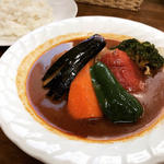 チキン野菜カレー(スープカレー カムイ )