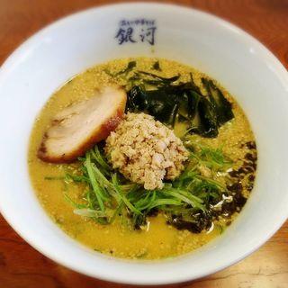 ごまみそ坦々麺(温もり中華そば 銀河)