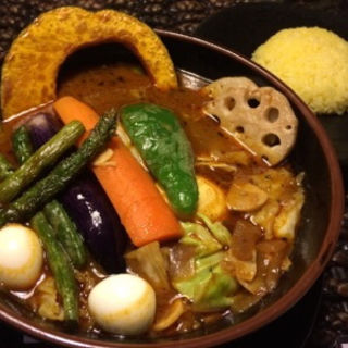 スープカレー チキン(Asian Bar RAMAI 横浜伊勢佐木モール店)
