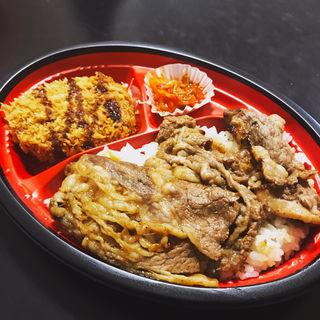 日替わり弁当(肉のヤマキ商店)