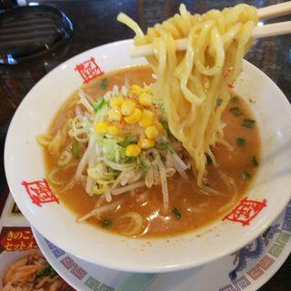 ランチセット  味噌ラーメン(おおぎやラーメン 伊勢崎連取 )