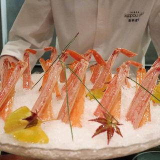 ずわい蟹(銀座 kappou ukai )