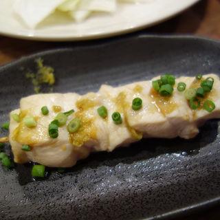 ササミ柚子胡椒風味(焼鳥 成吉 藤崎店)