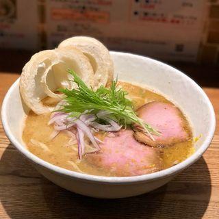 鰹と柚子の白味噌らーめん(らーめん専門 和心 武庫之荘店)