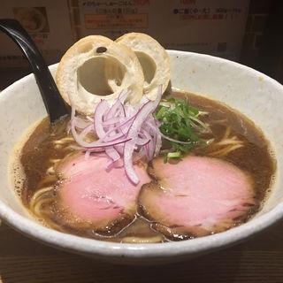 追い鰹醤油(らーめん専門 和心 武庫之荘店)