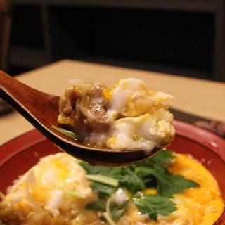 比内地鶏卵の親子丼(鳥光國 さいたま新都心)