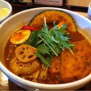 チキンスープ やわらかチキン(奥芝商店 八王子田代城 (オクシバショウテン))