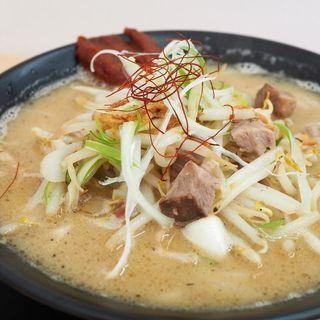 鴨だし辛味噌ラーメン(Noodleshop arakawa)
