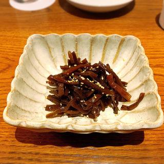 きゃらぶきの煮物(メシ酒場 鈴木ちゃん)