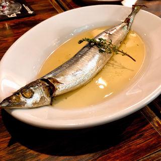 秋刀魚のコンフィ(SABOU 虎ノ門店 (サボウトラノモンテン))