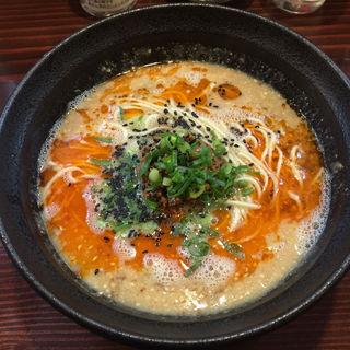 本気の担々麺(らーめん本竈)