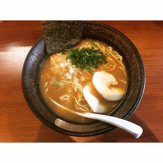 鶏白湯醤油(鶏白湯 中華そば 鶏革命 八幡総本店 (トリレボ))