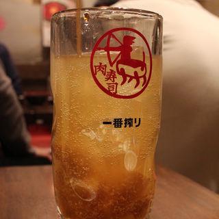塩生姜サワー 男前(辛口)(大宮肉寿司)